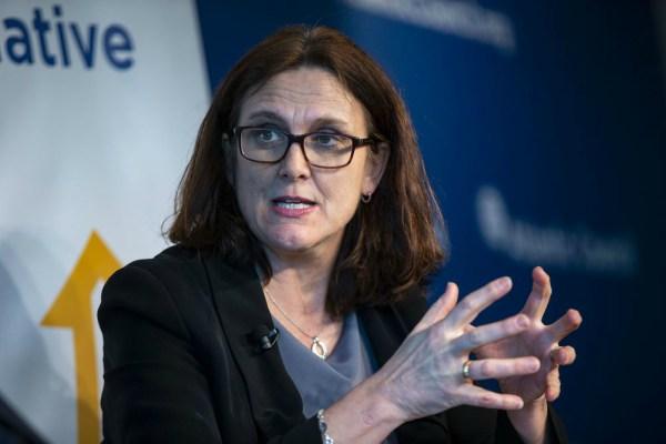 Cecilia Malmstrom - Bloomberg