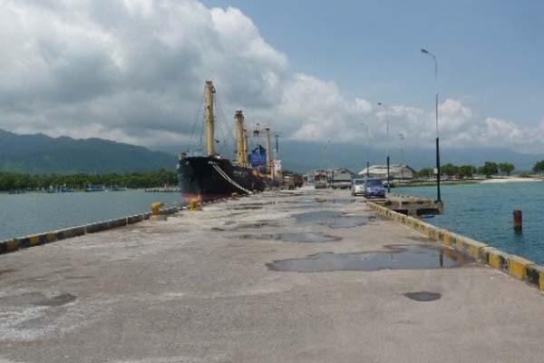 Pelabuhan Patimban di Subang, Jawa Barat. - Bisnis.com
