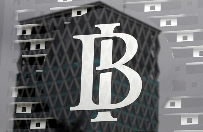 Logo Bank Indonesia. - Reuters