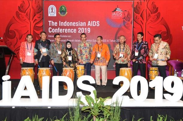 Gelaran iAIDS 2019 ini dibuka secara resmi oleh Pj. Sekda Jabar Daud Achmad - Bisnis/Wisnu Wage