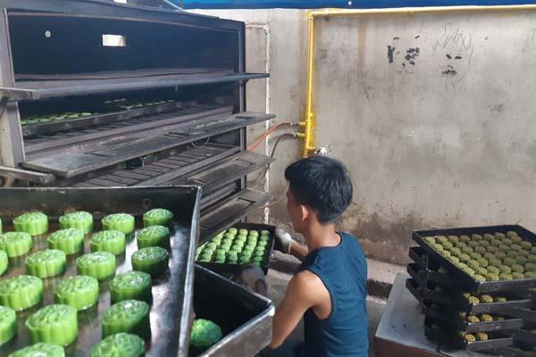 Penggunaan gas bumi yang disalurkan PT PGN (Persero) Tbk di Kota Palembang. - Bisnis/Dinda Wulandari