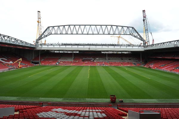 Stadion Anfield - Liverpoolfc.com