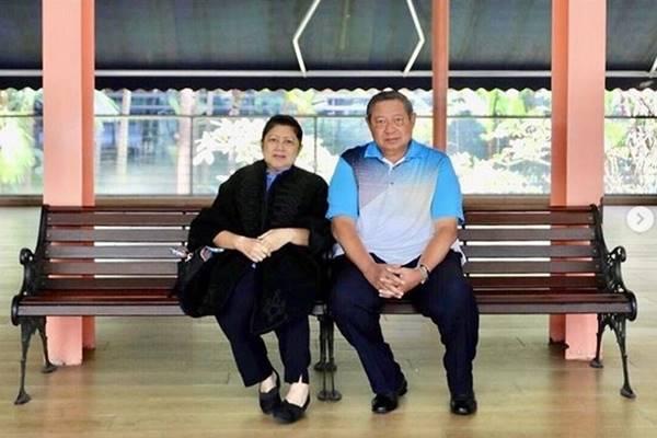 Ani Yudhoyono dan Susilo Bambang Yudhoyono - Instagram@aniyudhoyono