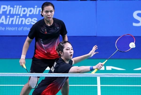 Ganda putri, Siti Fadia Silva Ramadhanti-Ribka Sugiarto - Badminton Indonesia