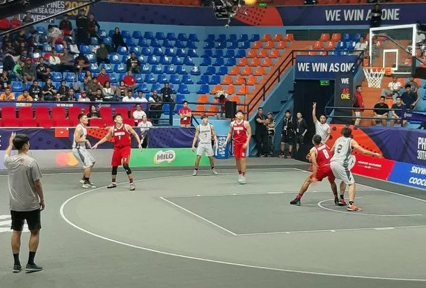Tim Bola Basket 3X3 Putra Indonesia - Antara