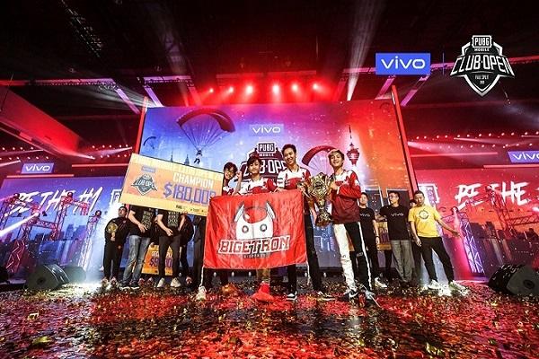 Tim Bigetron Red Aliens Juara Dunia PUBG Mobile / Istimewa