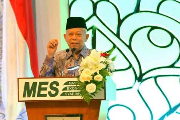 Wakil Presiden Ma'ruf Amin. Foto:wapres_ri
