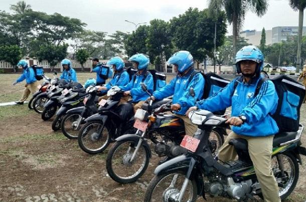 Armada layanan Go-Dok saat diluncurkan di Bale Kota Tasikmalaya - Antara