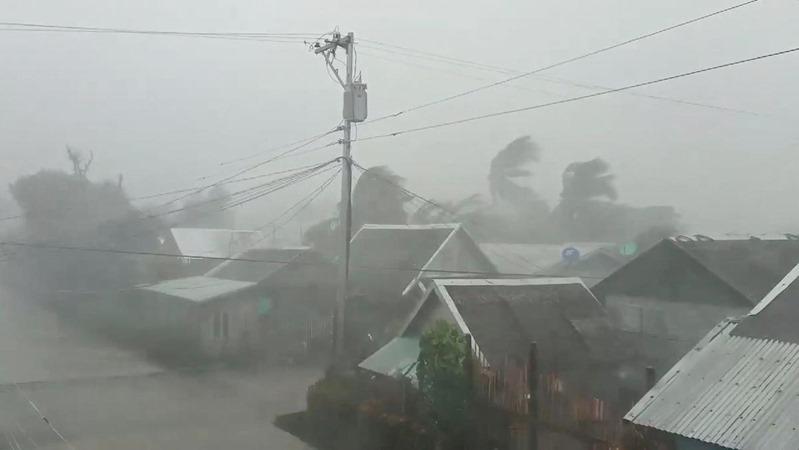 Badai Kammuri yang melanda Filipina. - Reuters