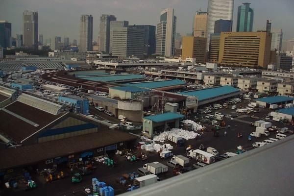 Ilustrasi Fish Market di Jepang - Bisnis/Martin Sihombing