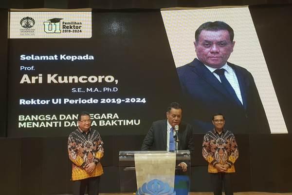 Rektor UI Ari Kuncoro : Universitas Harus Mampu Penuhi Kebutuhan Industri - Istimewa