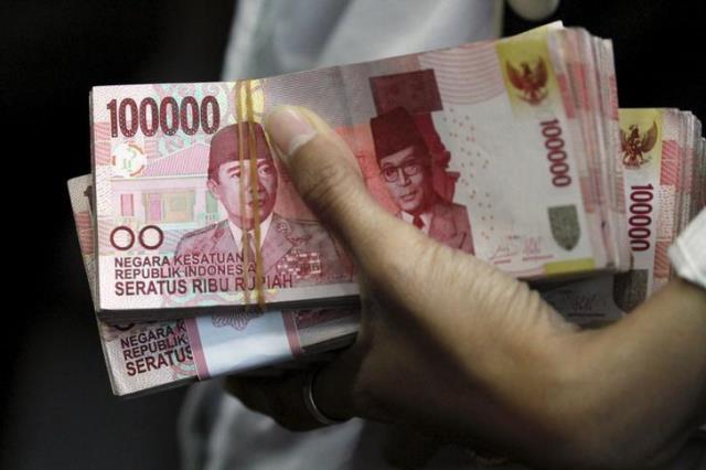 Ilustrasi rupiah - Reuters