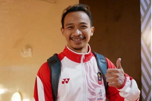 Atlet senam artistik putra Agus Prayoko - Antara