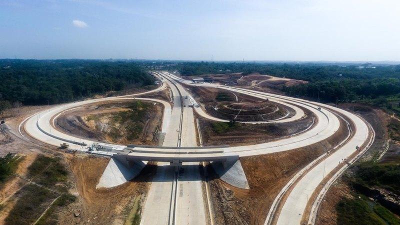 Jalan Tol Balikpapan-Samarinda. Jalan tol menuju IKN tersambung dengan jalan BalikpapanSamarinda/ - PT Jasa Marga Balikpapan Samarinda