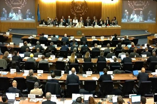 Susasana penutupan Sidang Majelis International Maritime Organization (IMO) ke-31 di London, Inggris. - Bisnis/Ana Noviani