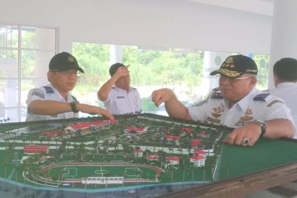 Kepala Badan Pengembangan SDM Perhubungan Wahju Satrio Utomo,SH, M.Si meninjau Kampus Balai Pelatihan Dan Penyuluhan Transportasi Darat (BP2TD) Mempawah, Kalimantan Barat/Istimewa - Ilustrasi