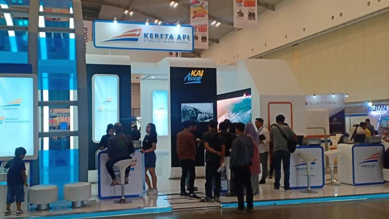 Travel Insight bersama KAI Expo yang digelar pada 7/8 Desember 2019 di Hall 5 Indonesian Convention Exhibition (ICE) BSD/City Tangerang.