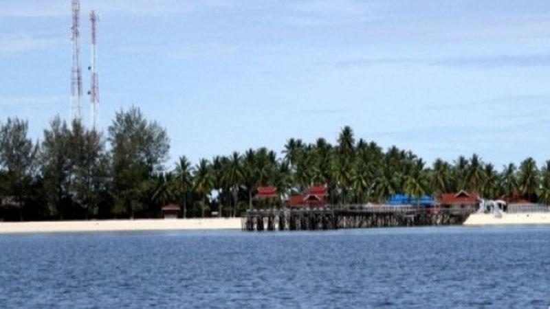 Pulau Derawan di Kalimantan Timur. - Antara
