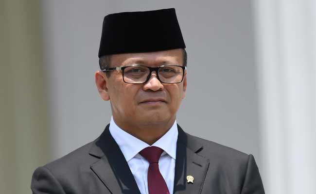 Menteri Kelautan dan Perikanan Edhy Prabowo ANTARA FOTO - Wahyu Putro A