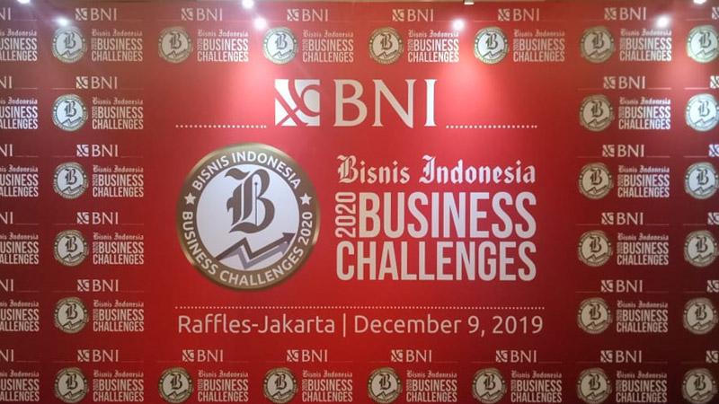 Bisnis Indonesia Business Challenges 2020. - Bisnis/Triawanda Tirta Aditya