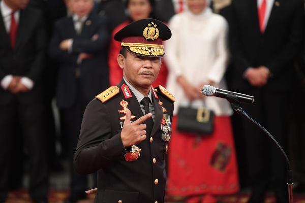 Kapolri Jenderal Pol Idham Azis. - Antara/Wahyu Putro A