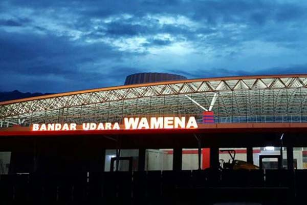 Bandara Wamena di Kabupaten Jayawijaya, Papua. - Dephub.go.id