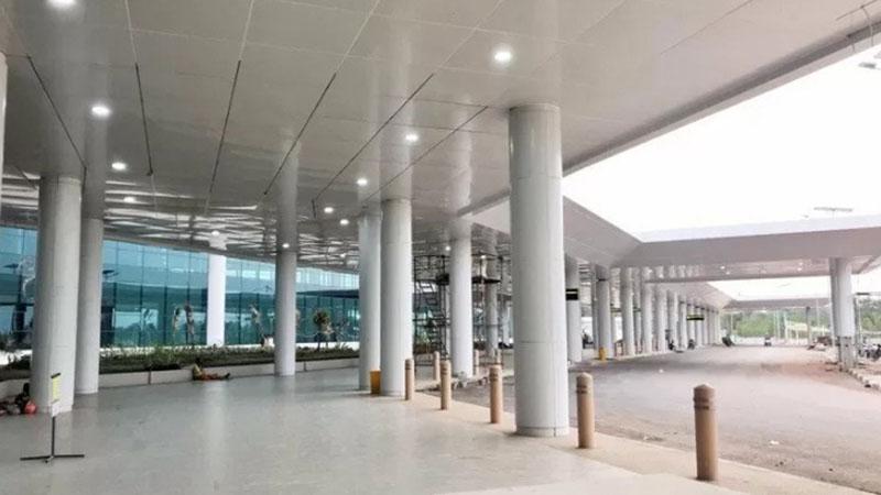 Terminal baru Bandara Syamsudin Noor di Banjarmasin, Kalimantan Selatan. - Antara