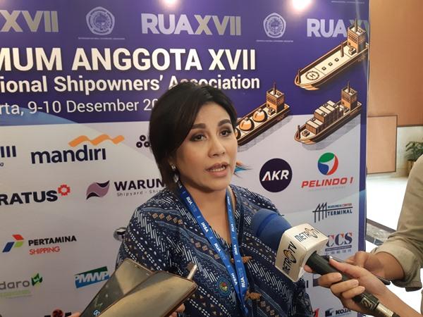 Ketua Umum INSA Carmelita Hartoto. BISNIS - Rinaldi M Azka