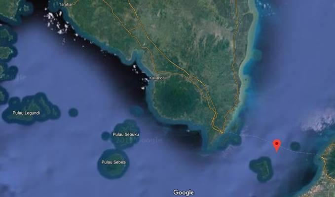 Selat Bangka - google maps