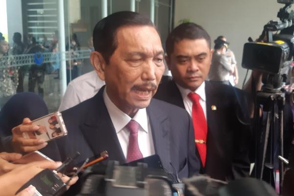 Menko Bidang Kemaritiman Luhut Binsar Pandjaitan - Bisnis/Jaffry Prabu Prakoso