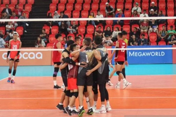 Tim bola voli putra Indonesia - Antara