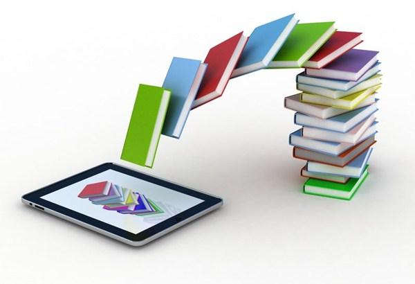 Ilustrasi buku digital - digitalmediadiet.com