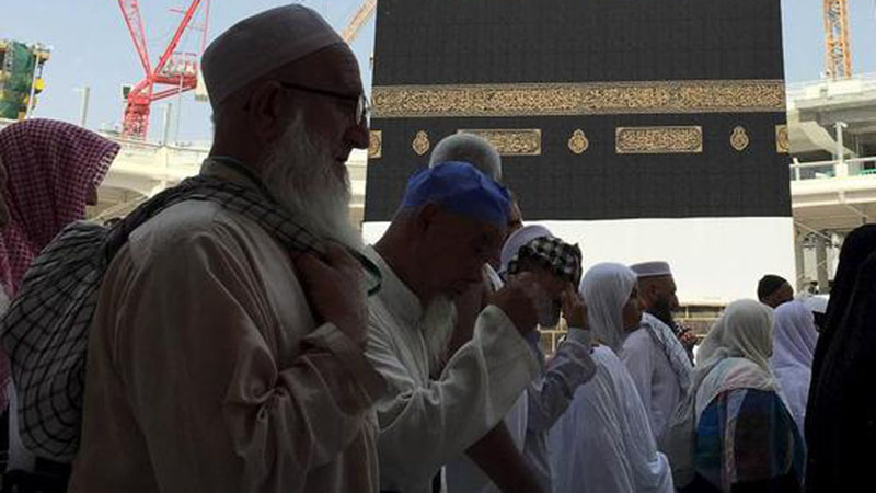 Ilustrasi pelaksanaan ibadah haji Reuters/Mohamed Al Hwaity