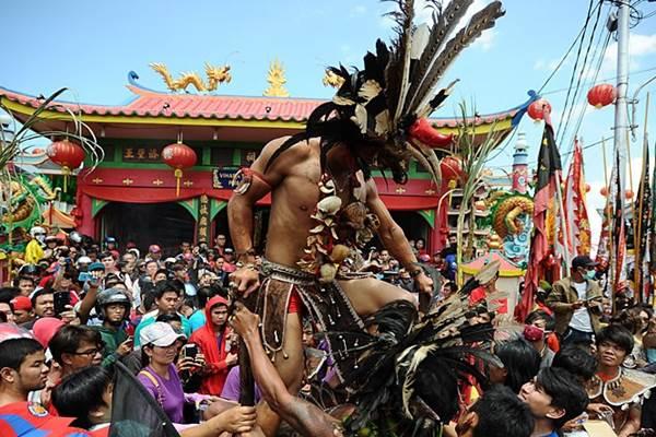Festival Tatung di Singkawang - telegraph.co.uk