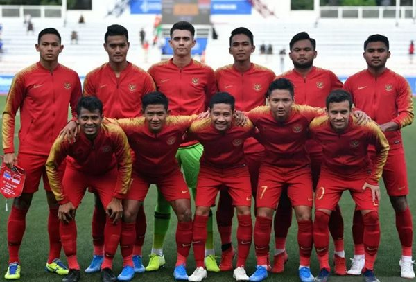 Timnas Indonesia U-23 di Sea Games 2019 - Antara