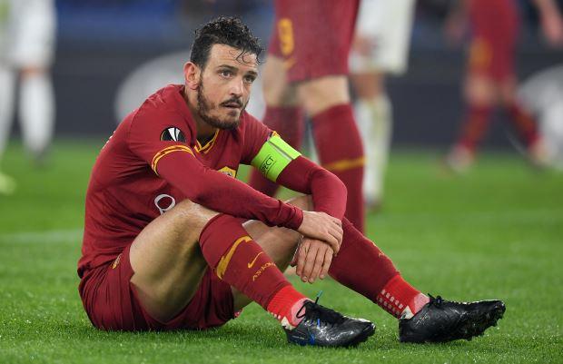 Kapten AS Roma Alessandro Florenzi - Reuters/Alberto Lingria