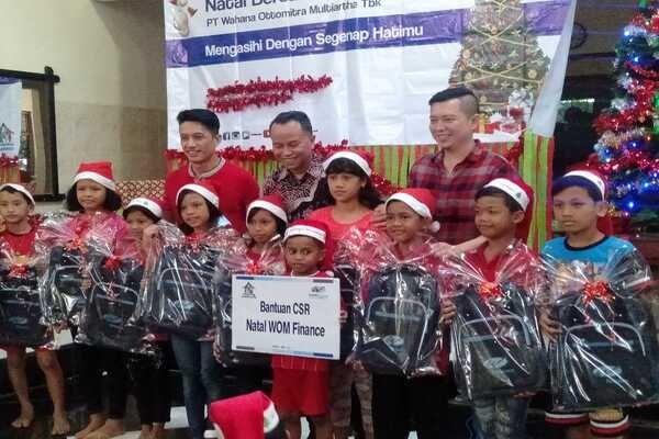 WOM Finance menyelenggarakan kegiatan Corporate Social Responsibility (CSR) di Panti Griya Bahtera Kasih Desa Wonorejo, Pesantren, Mijen, Kota Semarang.