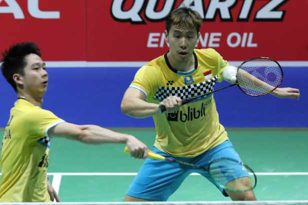 Kevin Sanjaya-Marcus Gideon - Badminton Indonesia
