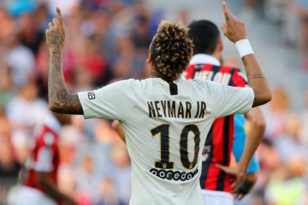Ujung tombak Paris Saint-Germain Neymar da Silva Santos Jr. - Reuters/Jean-Paul Pelissier
