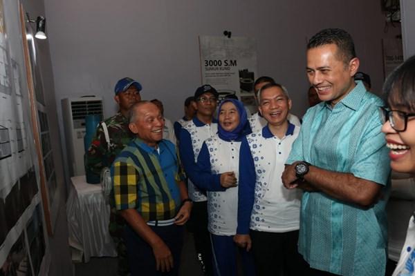 Wakil Gubernur Sumatra Utara Musa Rajekshah (kedua dari kanan) - Bisnis.com/Asteria