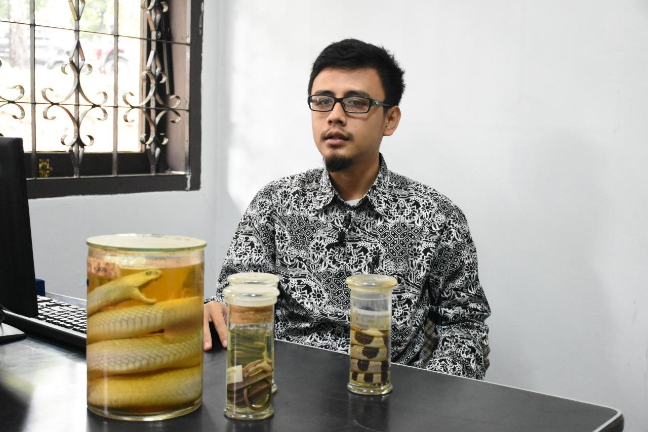 Ganjar Cahyadi, Ahli Reptil dari ITB - istimewa