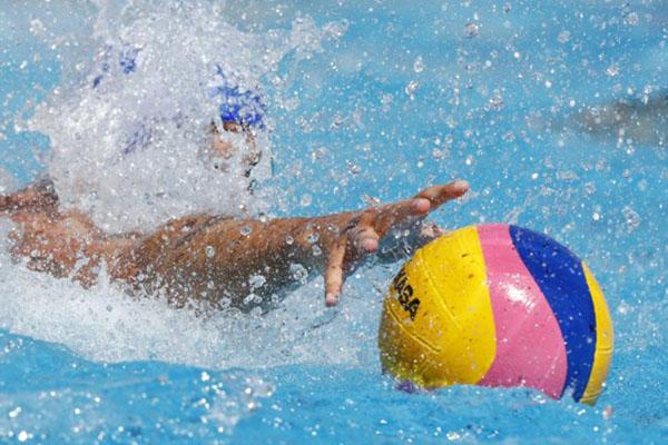 Ilustrasi permainan polo air. - Reuters