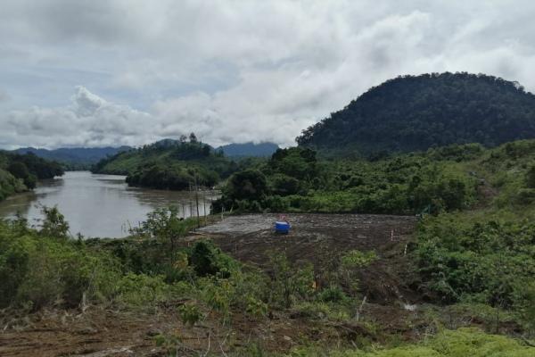 Progres pembangunan PLTA Kayan Hydro Energy di Kalimantan Utara - Istimewa