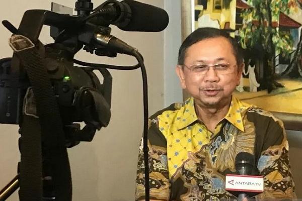 Dirut PT Asuransi Jiwasraya (Persero) periode 2008-2018, Hendrisman Rahim. - Antara