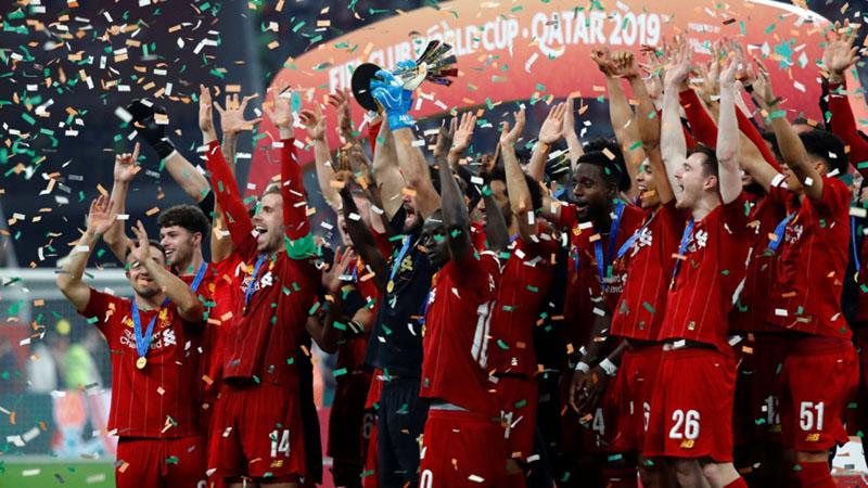 Liverpool juara Piala Dunia Antar-Klub 2019 di Qatar. - Reuters/Corinna Kern