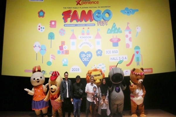 Press Conference FamGoFest 2019 oleh Traveloka Experience / Dok. Hype Festival
