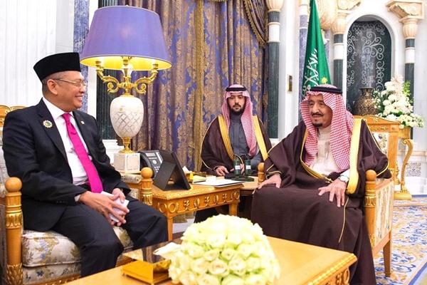 Bambang Soesatyo bertemu dengan Raja Salman - Istimewa
