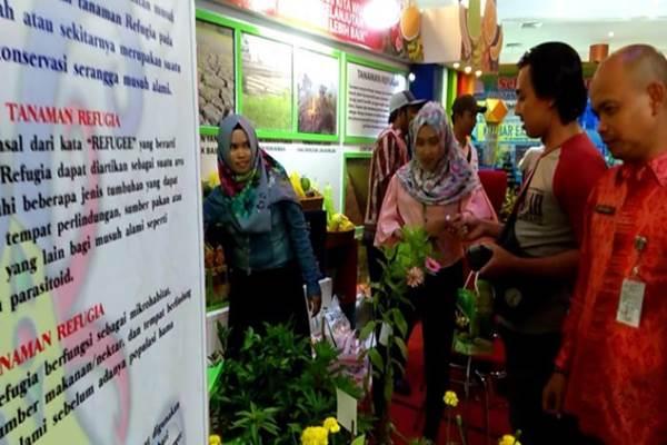 Bank Pasar Pontianak saat ikut di Kalbar Expo 2017 - Istimewa