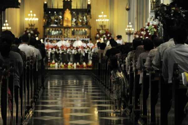 Misa Natal di Katedral - Antara