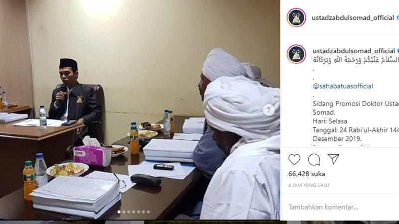 Abdul Somad - Instagram